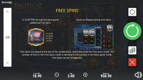 Vikings Winter game rules free spins