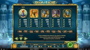 Doom of Egypt Wild rules