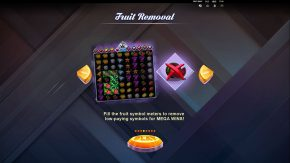 Fruit Snap game rules fruit removal