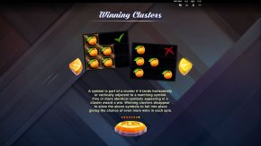 Fruit Snap game rules winning clusters