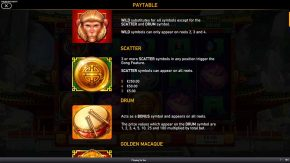 Golden-Macaque-Paytable-rules