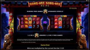 Gong Hei Gong Hei game rules free games