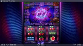 Hit it Hard game small win