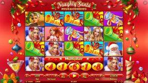 Naughty Santa Milk & Cookies game