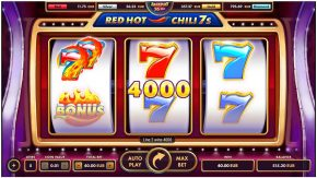 Red Hot Chili 7 More Win