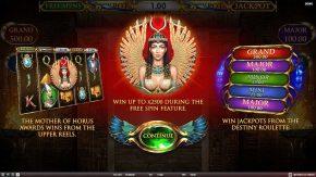 Mother of Horus start menu