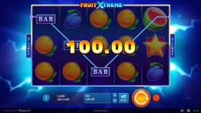 Fruit Xtreme Win bar
