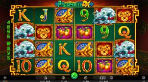 Prosperity Ox Slot Gameplay