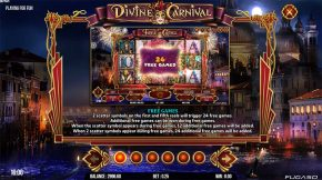 Divine Carnival Payout