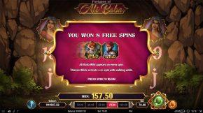 Fortunes of Ali Baba Bonus Free Spin