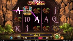 Fortunes of Ali Baba Win