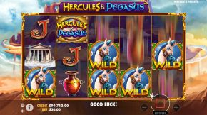 Hercules and Pegasus Gameplay