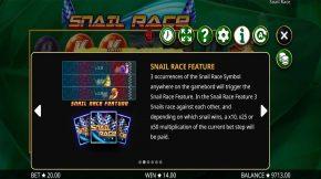 Snail Rase Payout