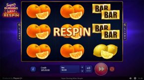 Super BurningWins Respin