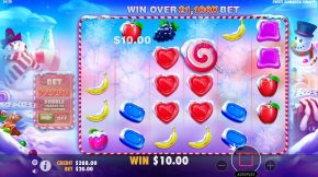 Sweet Bonanza Xmas Gameplay
