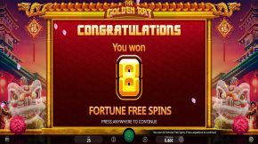 The Golden Rat Free Spin