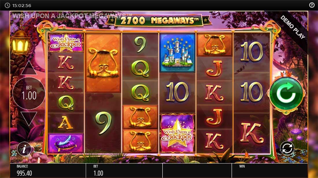 Wish Upon A Jackpot Megaways Slot Machine