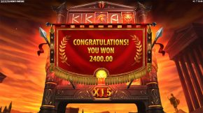 Neros Fortune Bonus Win