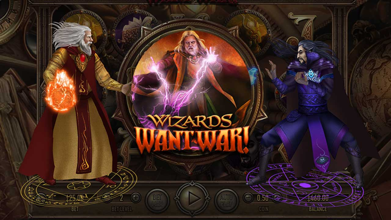 Wizards Want War Slot Machine