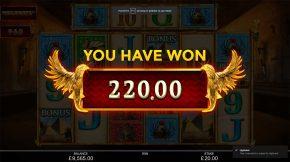 Anubis Wild Megaways Win
