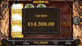 Aus Dem Tal Bonus Win