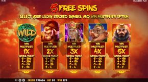Journey to the West Payout