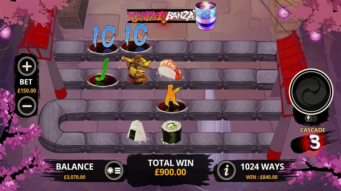 Kanpai Banzai Slot Machine