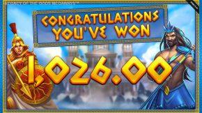 Legacy of the Gods Megaways Bonus Win