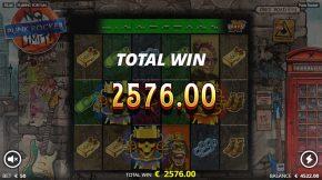 Punk Rocker Bonus Win