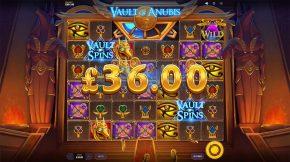 Vault of Anubis Gameplay Line