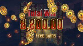 Crusader Bonus Big Win
