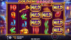 Golden Beauty Bonus Gameplay
