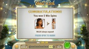 Thats Rich Free Spins