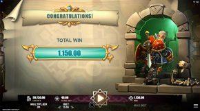 Treasure Heroes Bonus Win