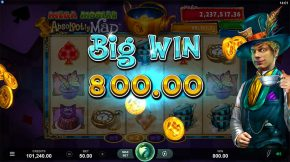 Absolootly Mad Mega Moolah Big Win