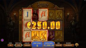 Arthurs Fortune Free Spins Line