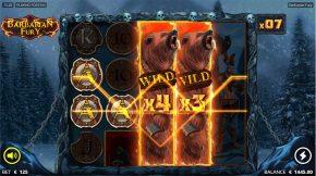 Barbarian Fury Free Spins Wild