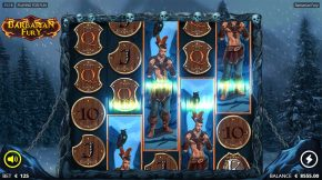 Barbarian Fury Gameplay Sumbol