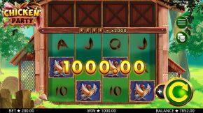 Chicken Party Gameplay Line
