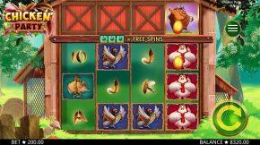 Chicken Party Gameplay Sumbol