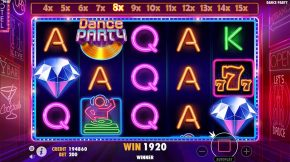 Dance Party Free Spins Line