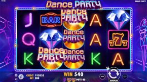 Dance Party Gameplay Line