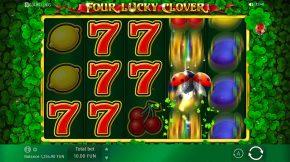 Four Lucky Clover Bonus