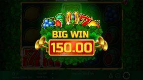 Four Lucky Clover Bonus Big Win