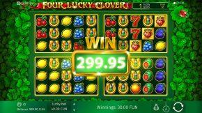Four Lucky Clover Bonus Wild