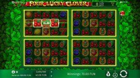 Four Lucky CloverFree Spins