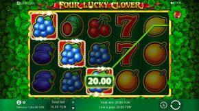 Four Lucky Clover Line