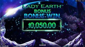 Lady Earth Bonus Win