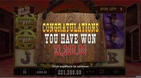 Wild West Wilds Bonus Win