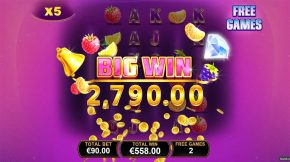 Blazing Bells Big Win